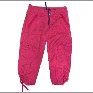 Athleta size 4 red women's Capri pants